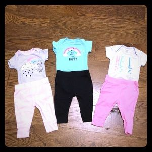 3 baby outfits